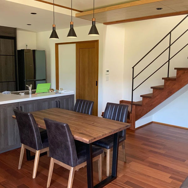 """木造在来工法と最新技術による""""安心""""と""""快適""""の家づくり。"""